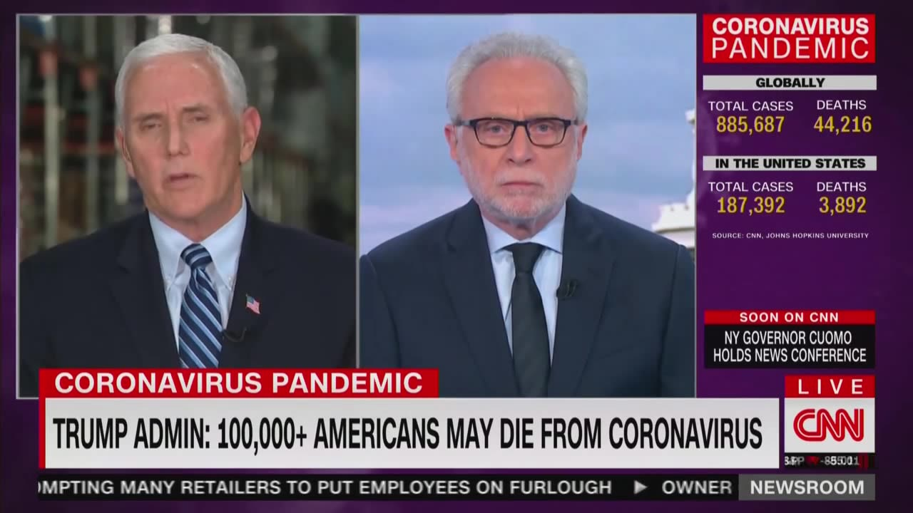 Pence Claims Trump Never 'Belittled' Coronavirus Threat. CNN Confronts Him With Receipts.