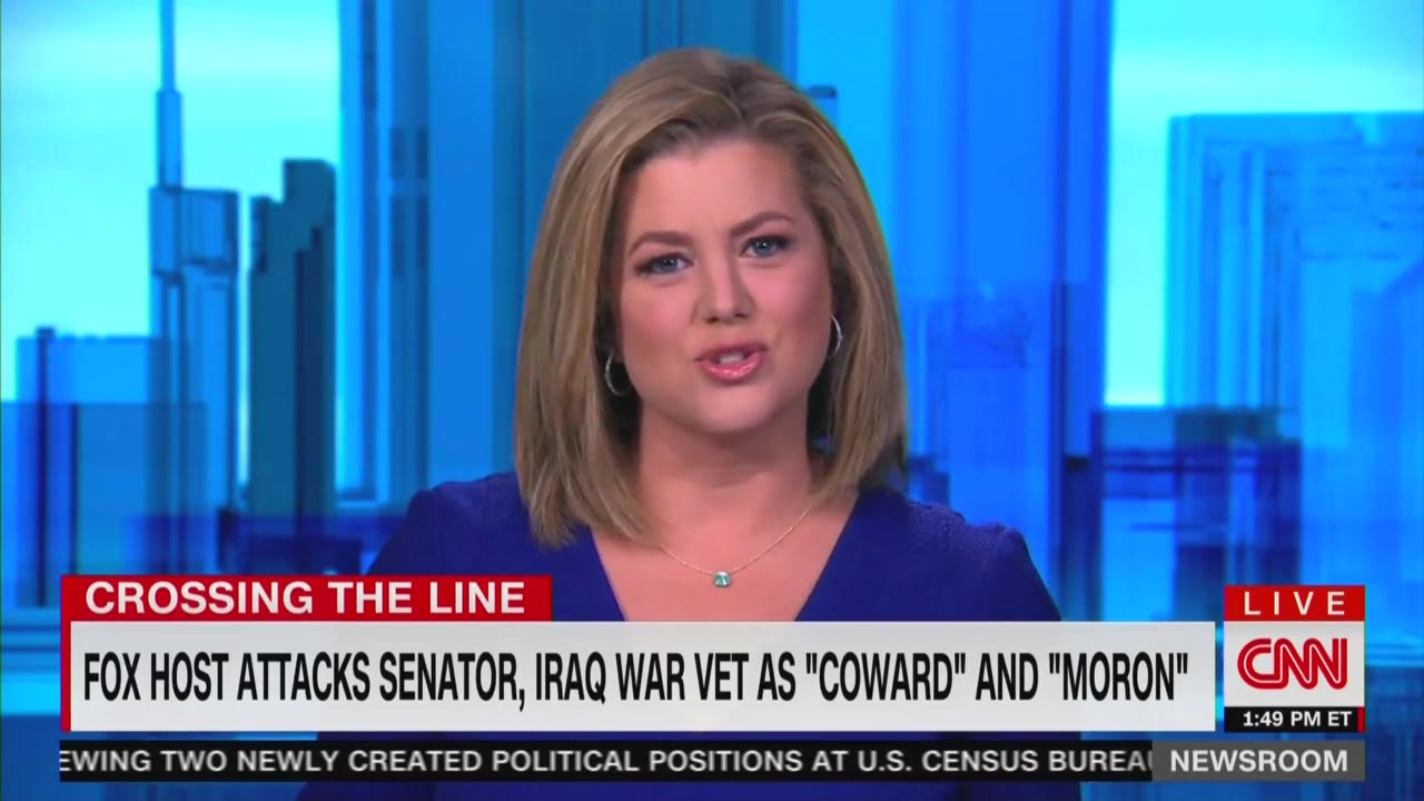 CNN Anchor Shreds Tucker: Questioning Duckworth's Patriotism 'Makes You the Moron'