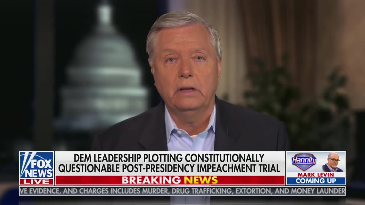 Lindsey Graham Frets That Impeaching Trump Could Lead to George Washington's Impeachment