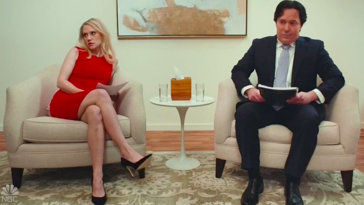 SNL's Hilarious 'Marriage Story' Parody With Kellyanne and George Conway Fighting and Divorcing