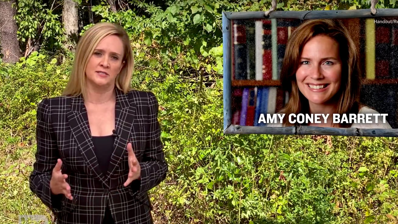 Samantha Bee: Why Liberals Should Be Worried About Amy Coney Barrett