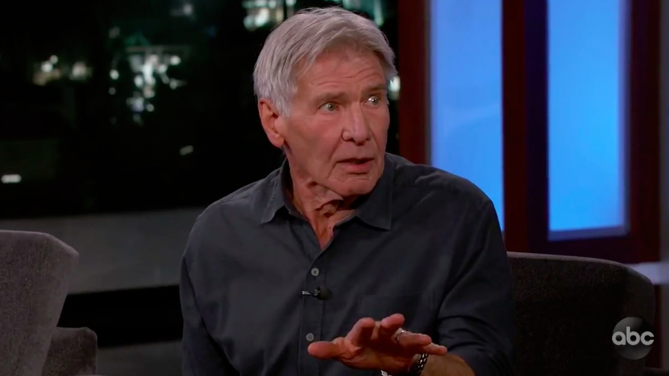 Harrison Ford Calls Out 'Son of a B*tch' Trump