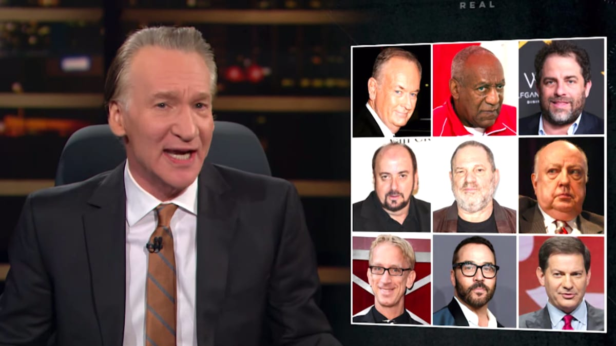 What Bill Maher Gets Wrong About Sexual Predators in Hollywood (and Beyond)