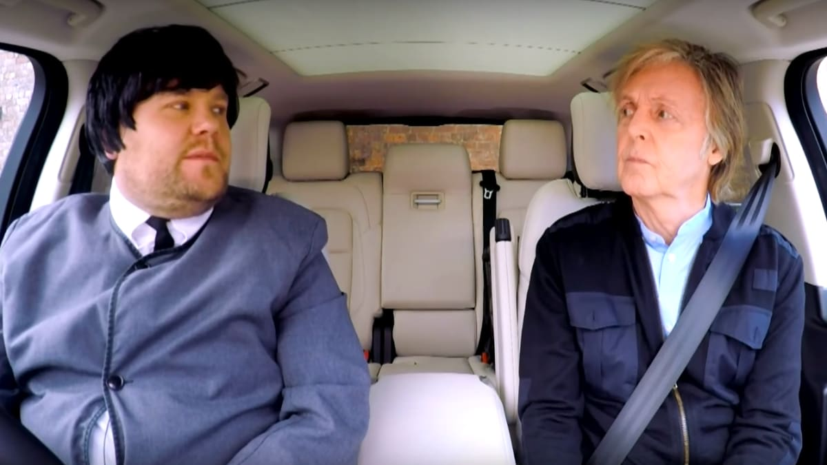 Paul McCartney's Extraordinary Carpool Karaoke Tour of Liverpool With James Corden