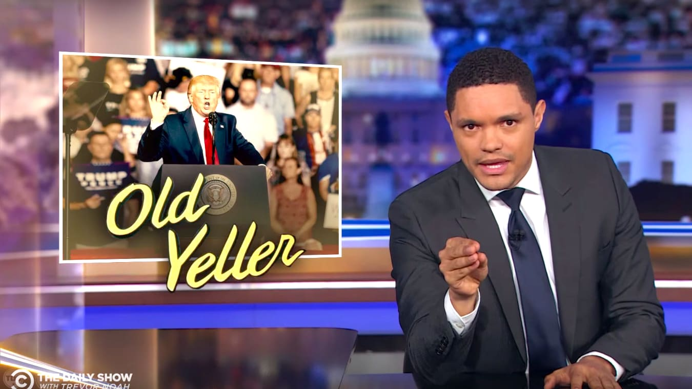 The Daily Show's Trevor Noah on Why Those Racist Trump Rally Chants Against Ilhan Omar Were 'Extra Disturbing'