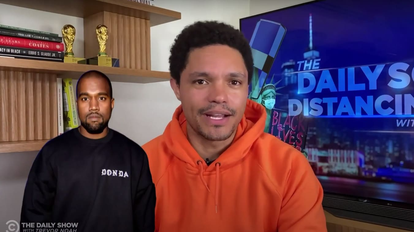 Trevor Noah Is Very Worried About Kanye West: Someone 'Take His Mic Away' - The Daily Beast