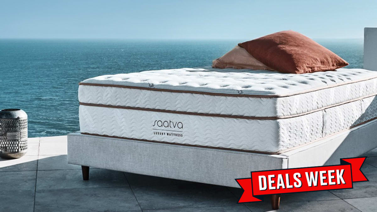 Save 10% on a Comfy Top-Rated Saatva Mattress for Black Friday