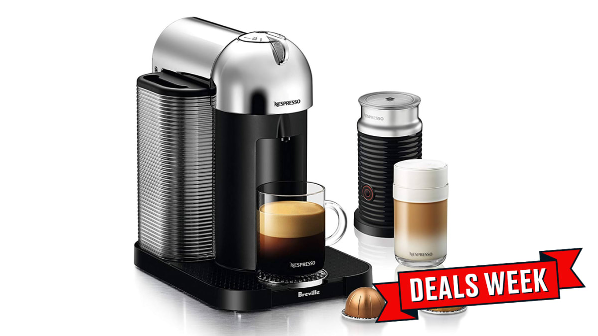 Nespresso Coffee Machine by De'Longhi Bundles are 59% Off on Cyber Monday