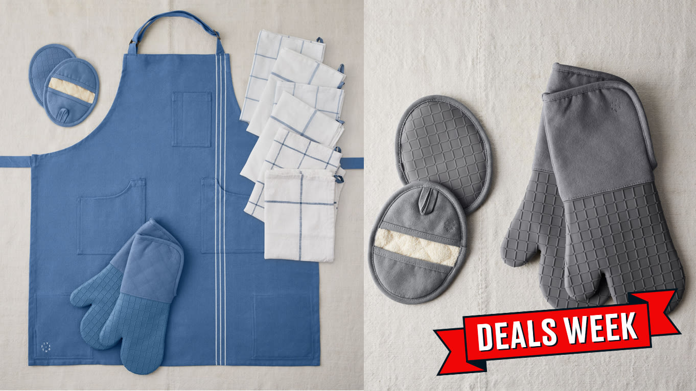 Today Only: Food52's Highly-Rated Ultimate Kitchen Set, Complete With Apron and Pot Holder, Is On Sale