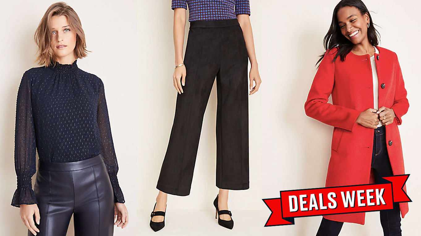 Get a Whole New Work Wardrobe With Ann Taylor's Sitewide Sale for Black Friday