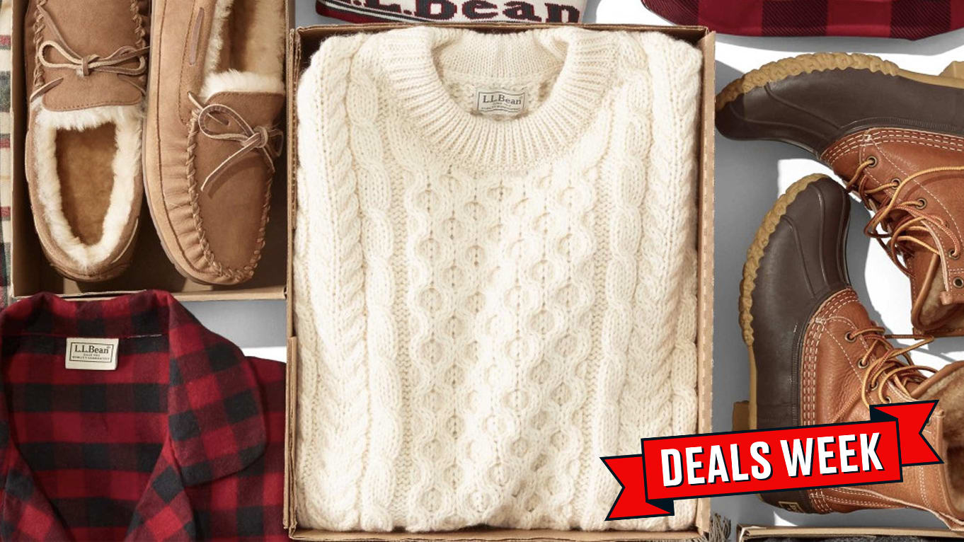 L.L.Bean's Sitewide Sale of 20% Off Means Everyone on Your Shopping List Goes Home Happy