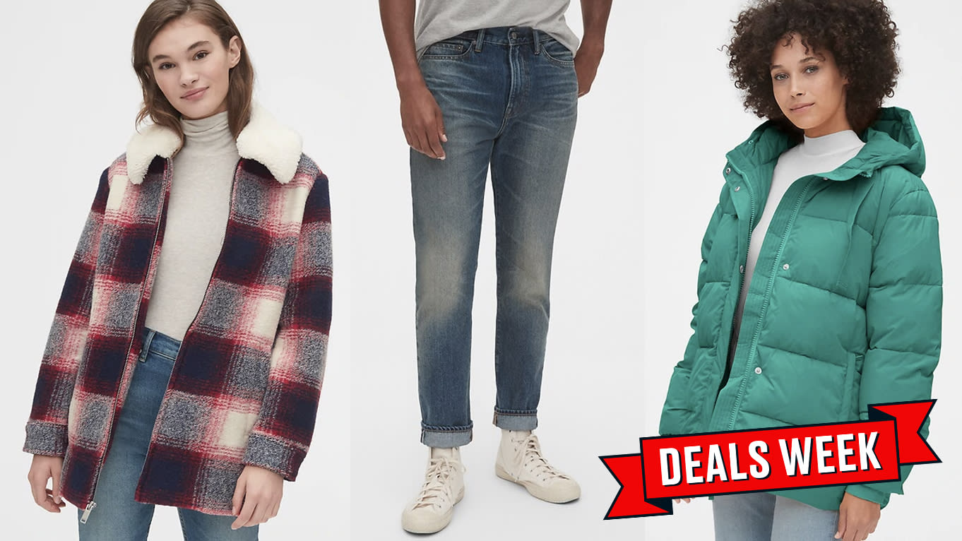 GAP Has 50% Off Everything (Seriously) Plus an Extra 10% Off for Cyber Monday