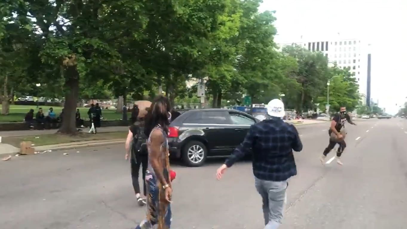 Driver Appears to Deliberately Plow Into Denver Demonstrators...