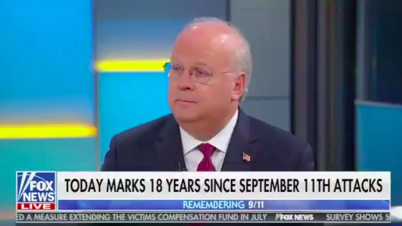 Karl Rove Wrongly States American Muslims 'By and Large' Weren't Attacked After 9/11