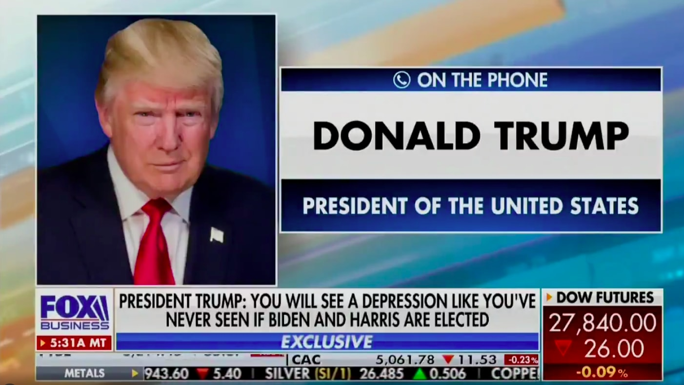 Trump Calls Fox Business Network to Rage About 'Mad,' 'Crazy,' 'Yapping' Powerful Women