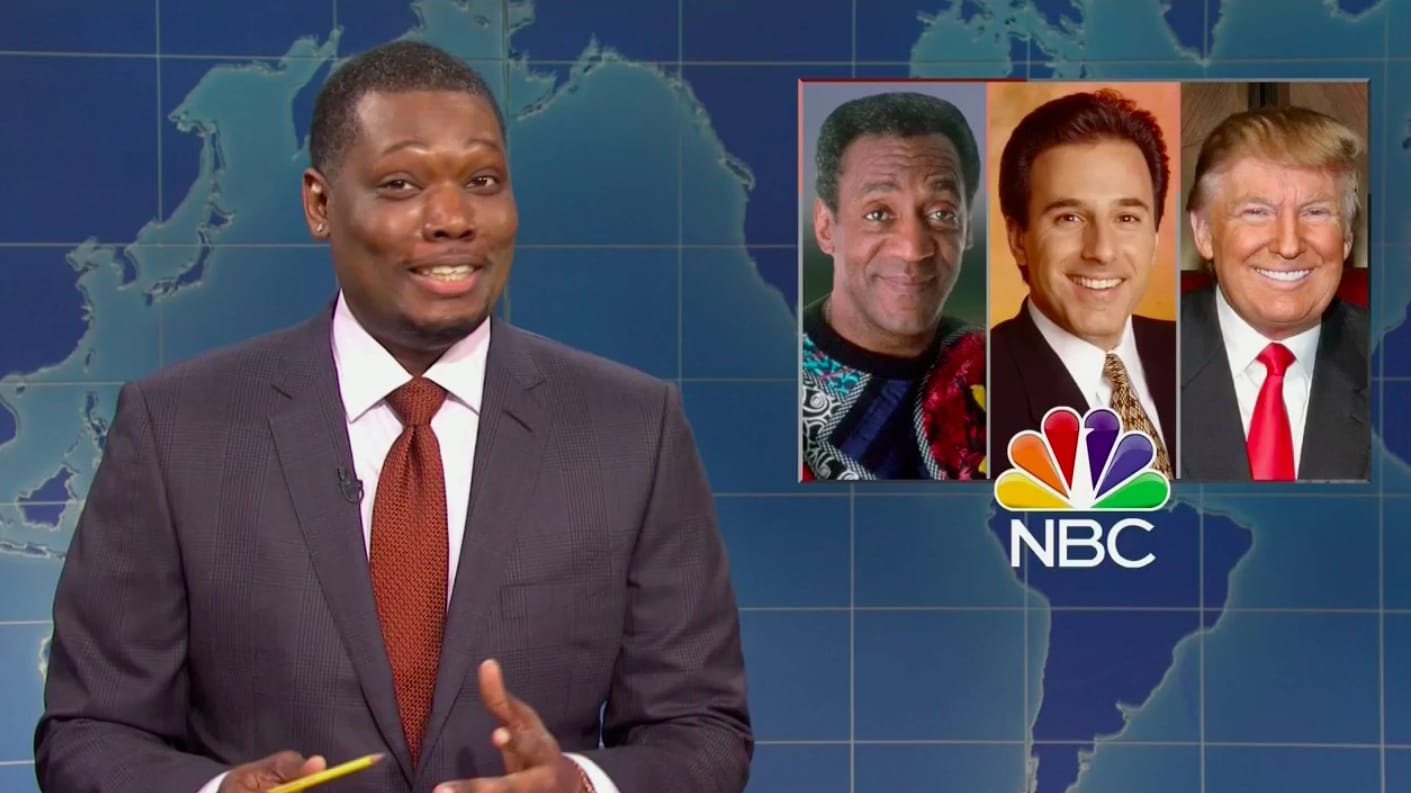 SNL's Michael Che Slams NBC for Hosting Trump, Bill Cosby, and Matt Lauer