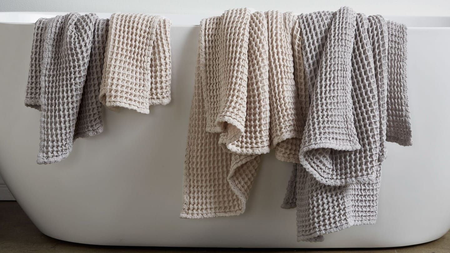 The Best Waffle Knit Towels