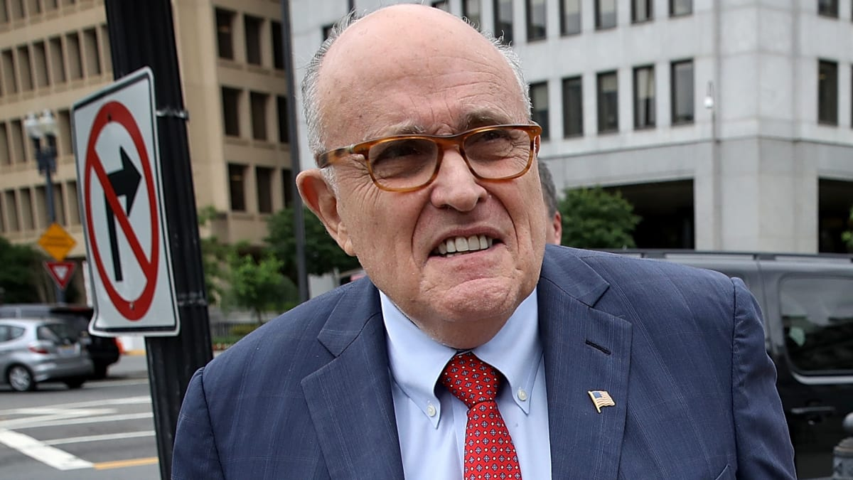 Giuliani Rants About Bidens, Money Woes in Butt-Dial Call to Reporter