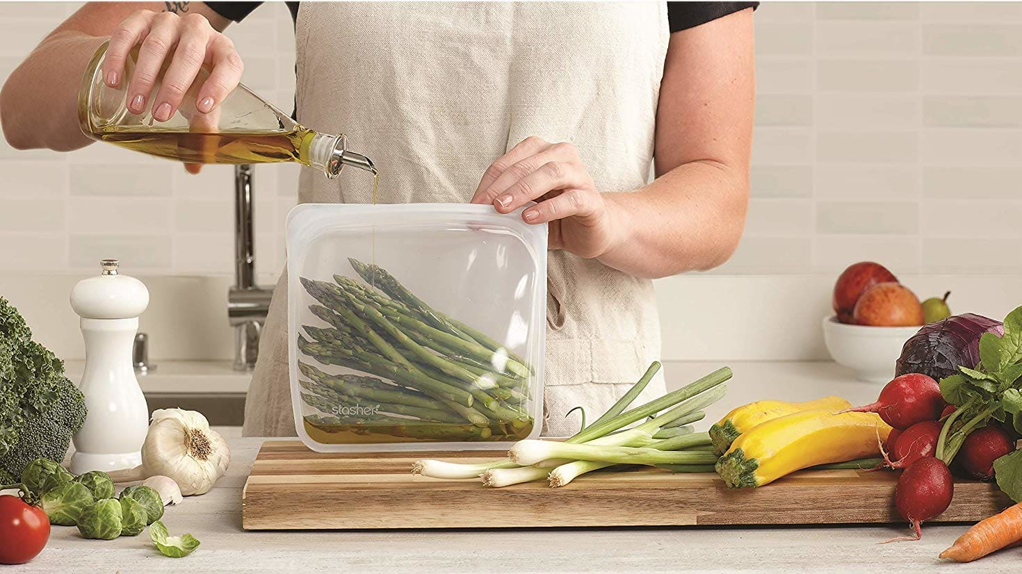 Stasher Bags Are the Best Way to Store and Cook Food — And They're 20% off Right Now