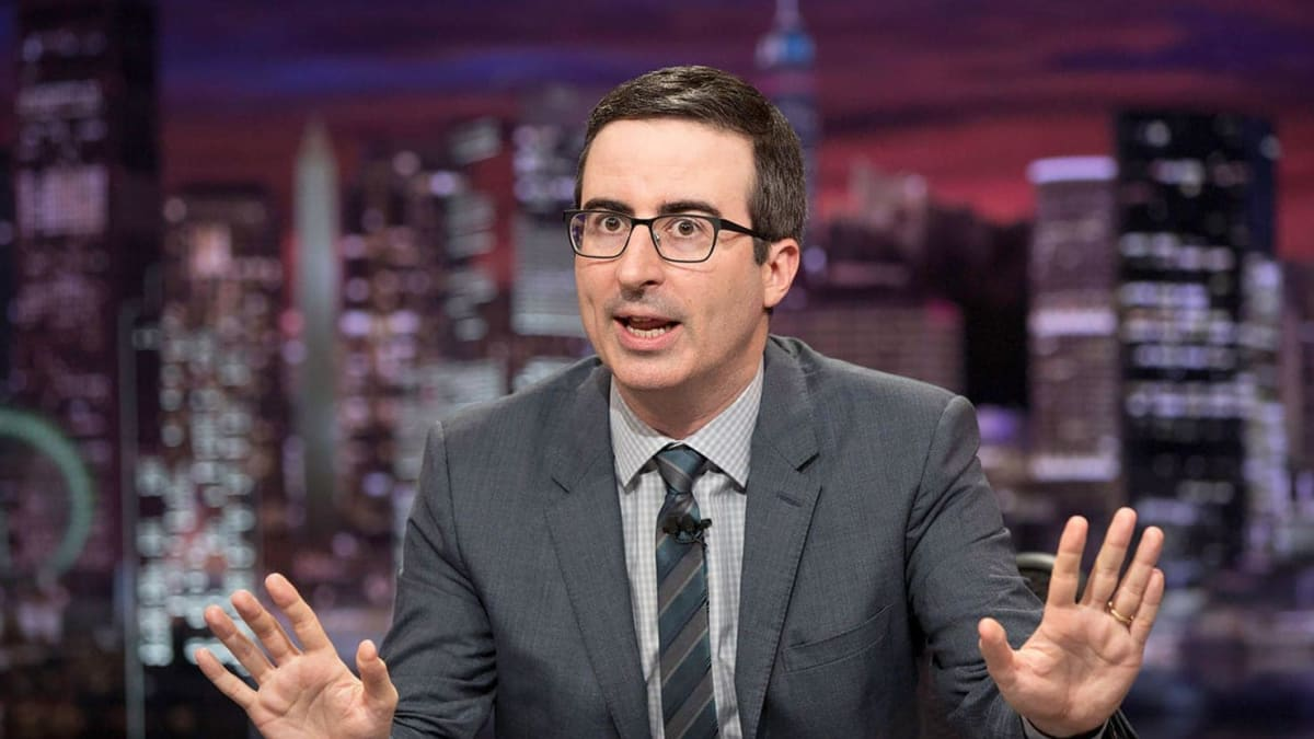 John Oliver Goes Off on Fox News for Undermining the Mueller Investigation