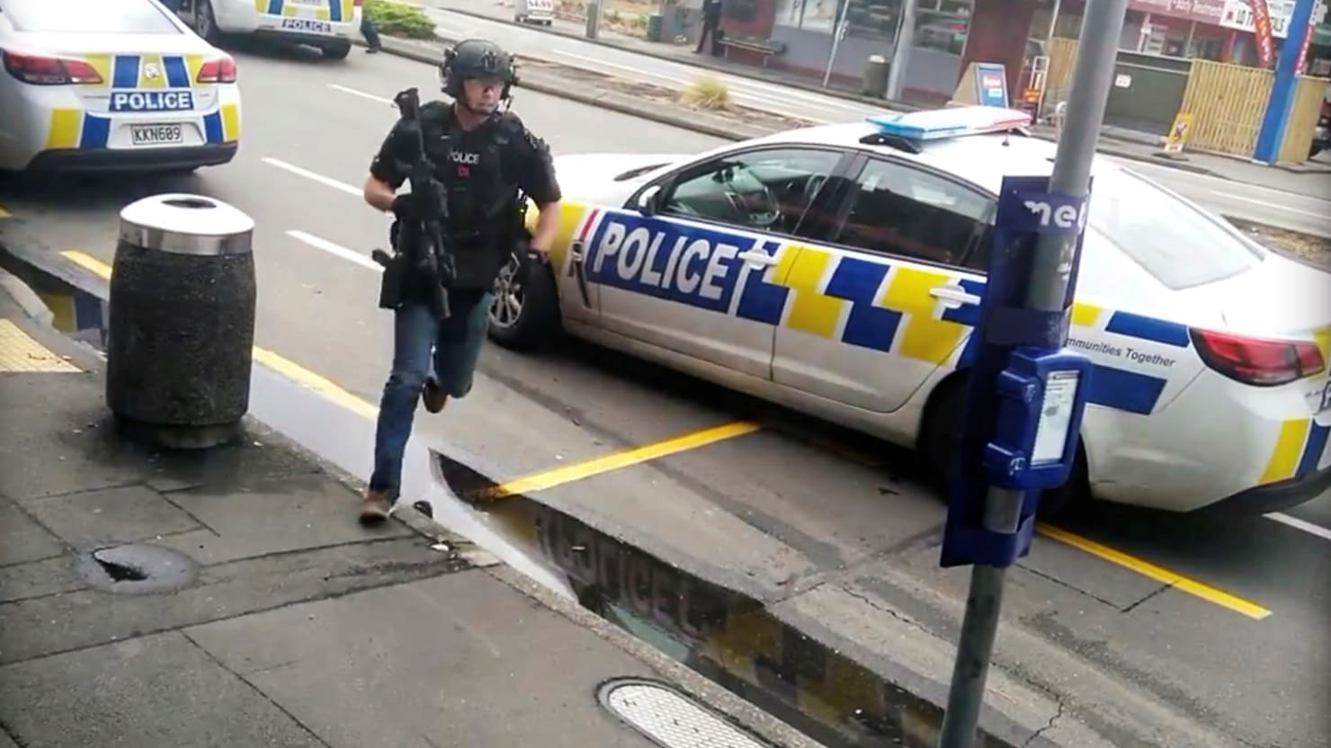 Mosque Shooting Christchurch Detail: Christchurch Shooting: 'Extremely Lucky' Bangladeshi