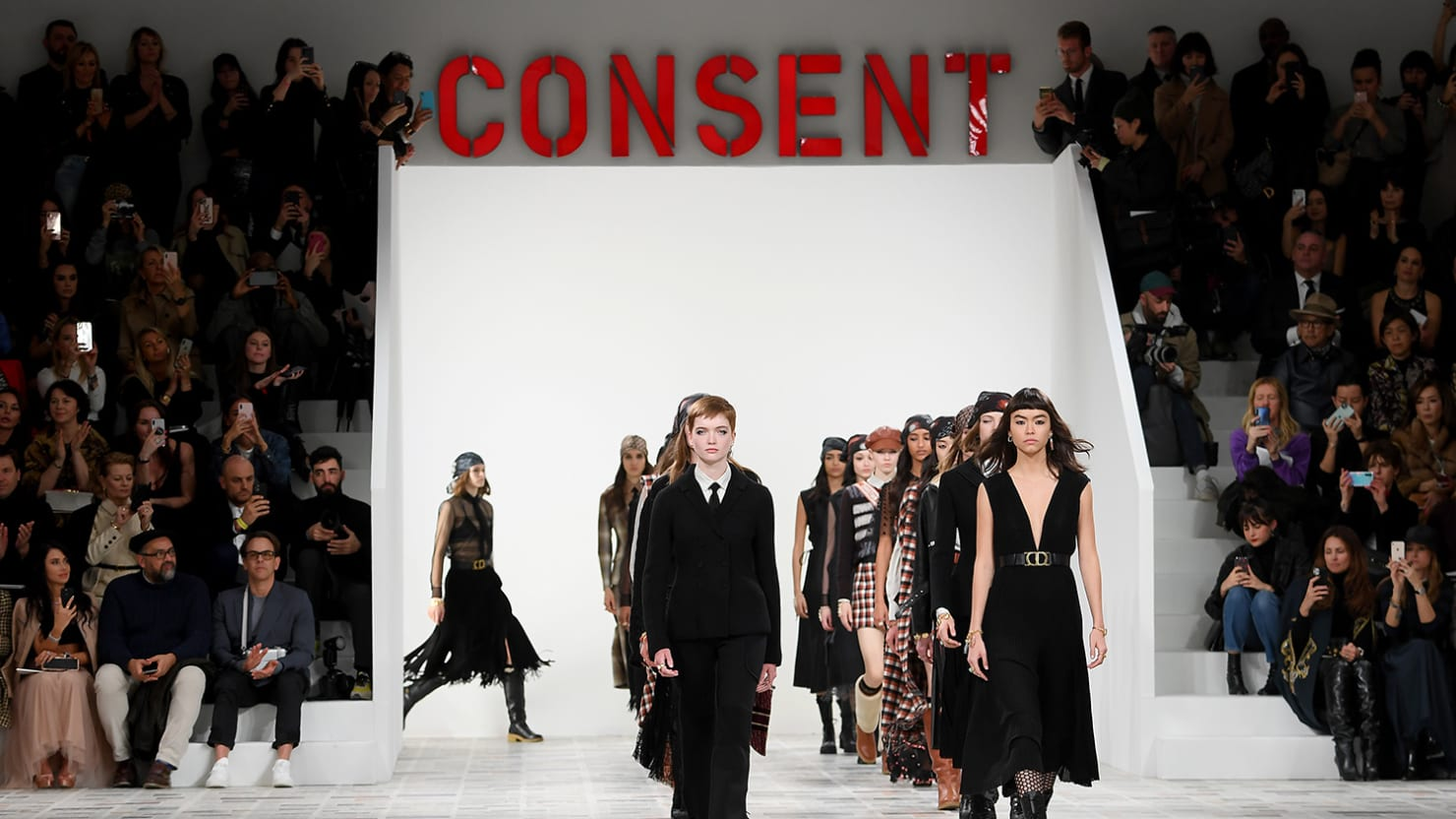 Dior Is Selling Feminism on the Paris Runway. Are We Buying It?