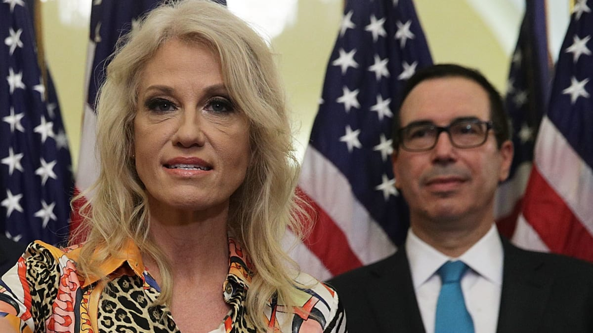 Trump Floated Replacing Mulvaney With Kellyanne Conway or Steven Mnuchin: Report