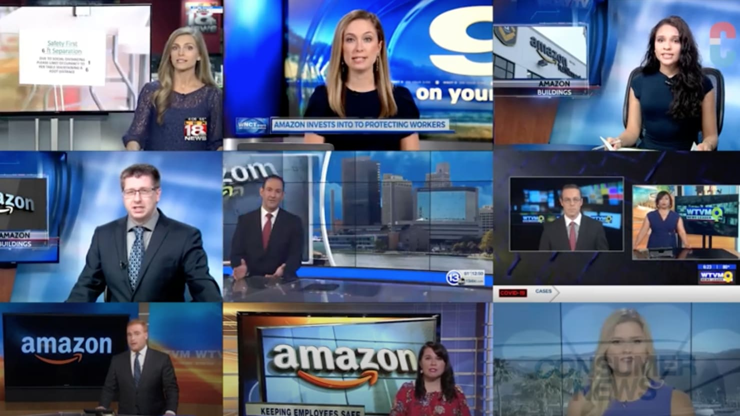 11 Local TV Stations All Aired the Same Puff Piece Written for Them by Amazon