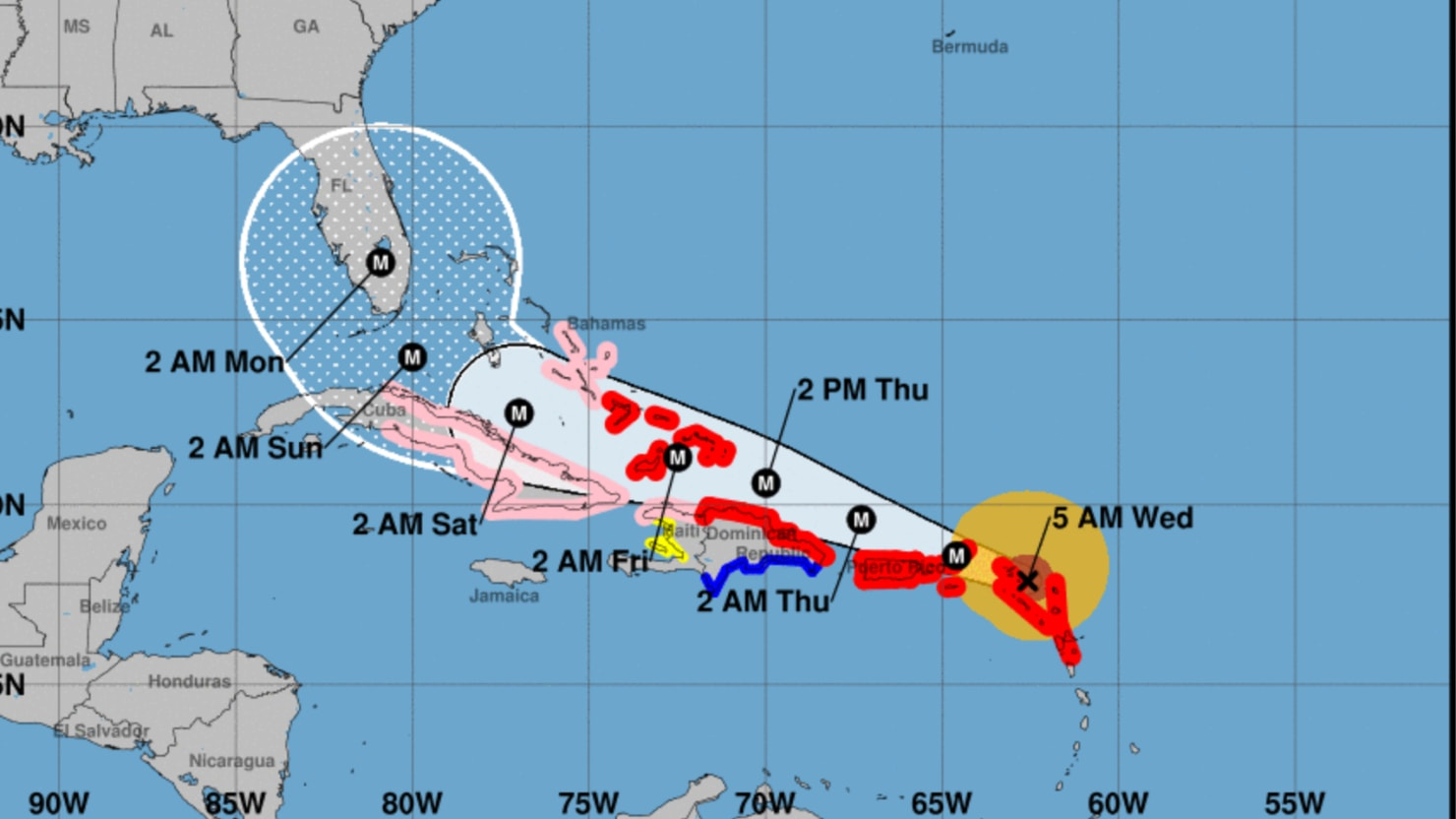 Powerful Hurricane Irma Hits First Caribbean Islands  The Daily Beast