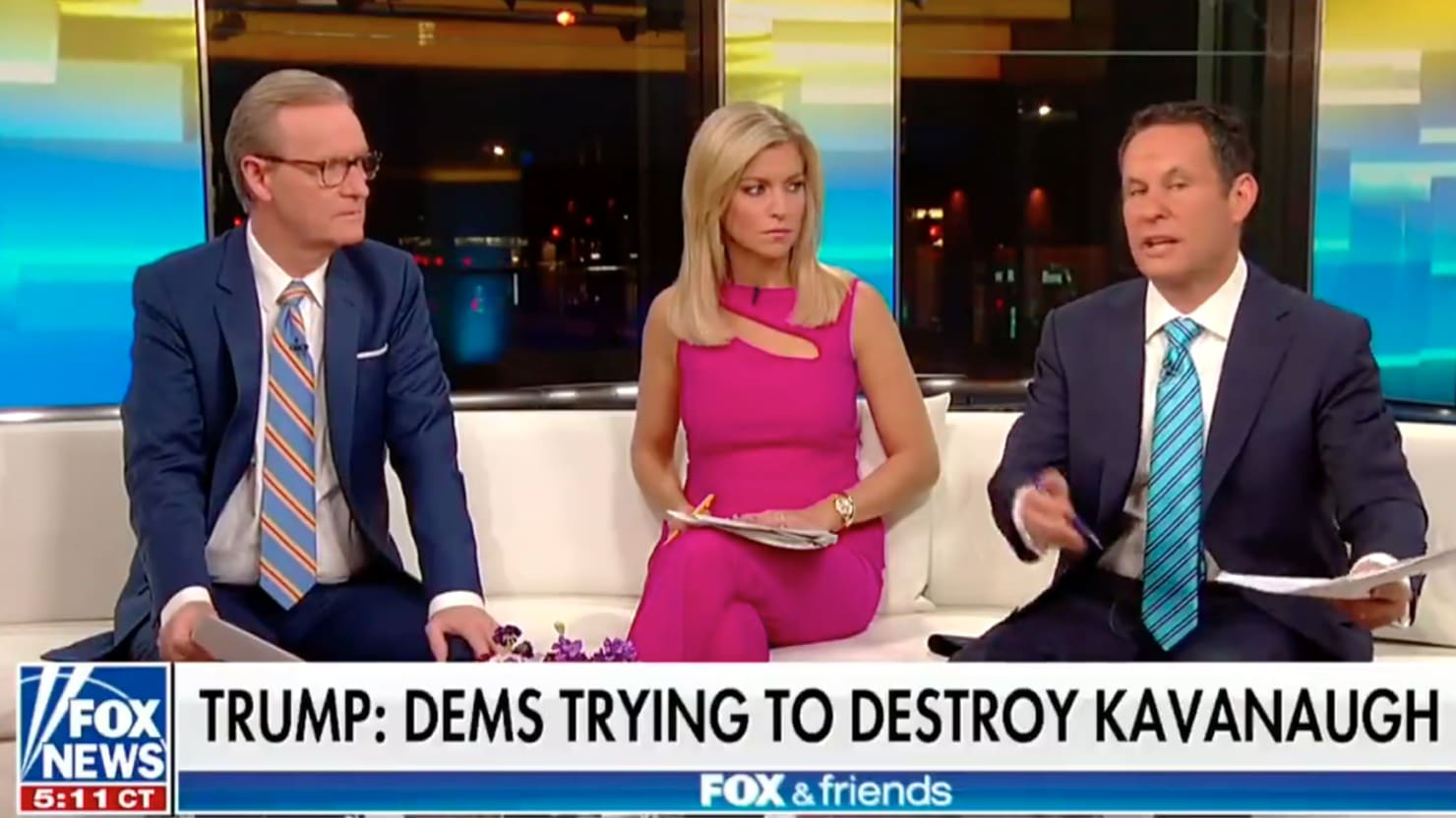 'Fox & Friends': Trump 'Blew It' by Mocking Christine Blasey Ford