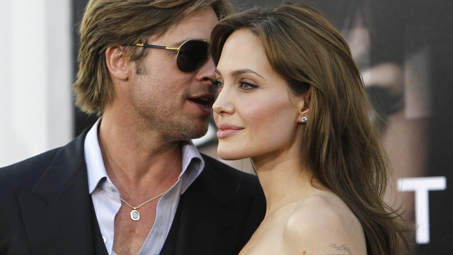 Brad Pitt 'Visited J...