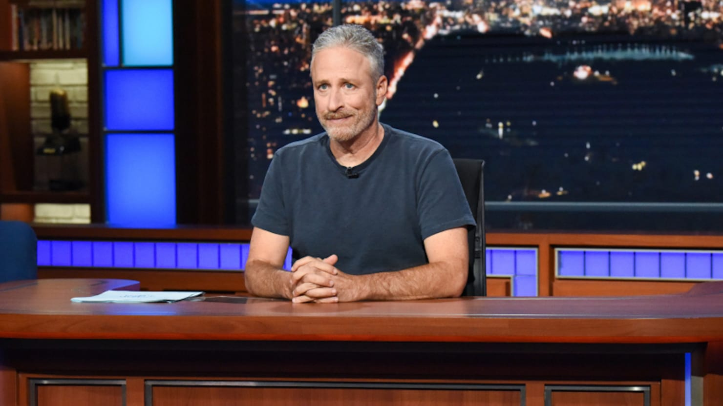 Jon Stewart Delivers Fiery Address to President Trump: 'We Will Prevail'