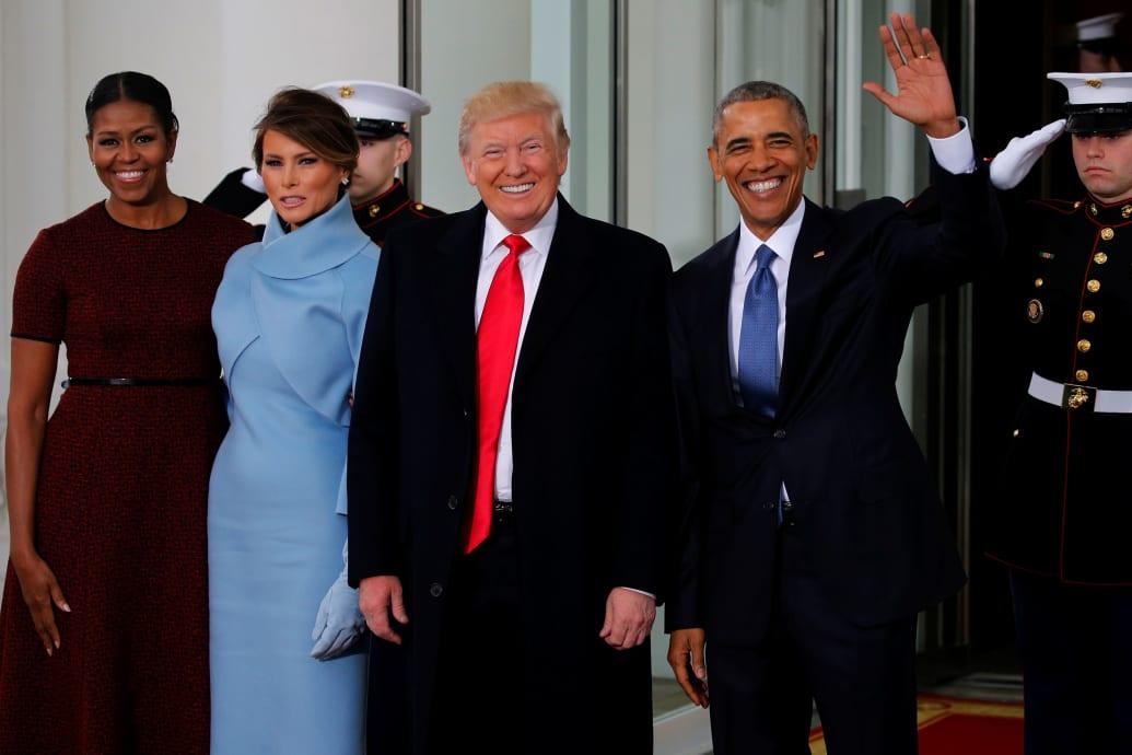 The Scene at Donald Trump's Inauguration