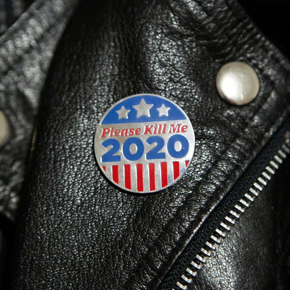 Please Kill Me 2020: Swag for A Bipartisan Dystopia