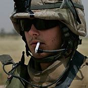 For Soldiers Like Me, Cigarettes and War Are Inseparable