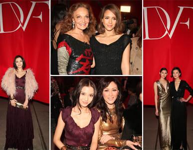 Diane Von Furstenberg S Dvf Label Stuns Chinese Glitterati With Red Ball