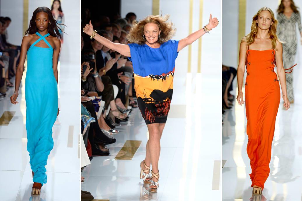 Diane Von Furstenberg S Spring Summer 2014 Oasis