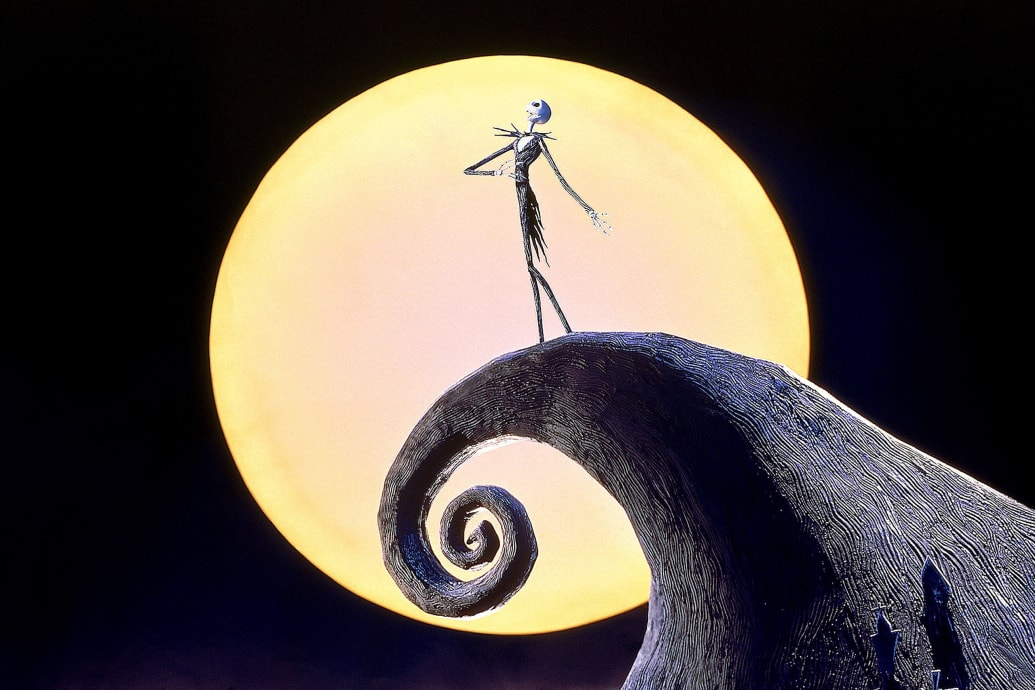 Tim Burton Nightmare Before Christmas Jack And Sally.Henry Selick On Directing The Nightmare Before Christmas