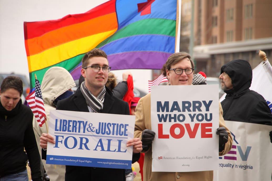 Gay marriage ban virginia