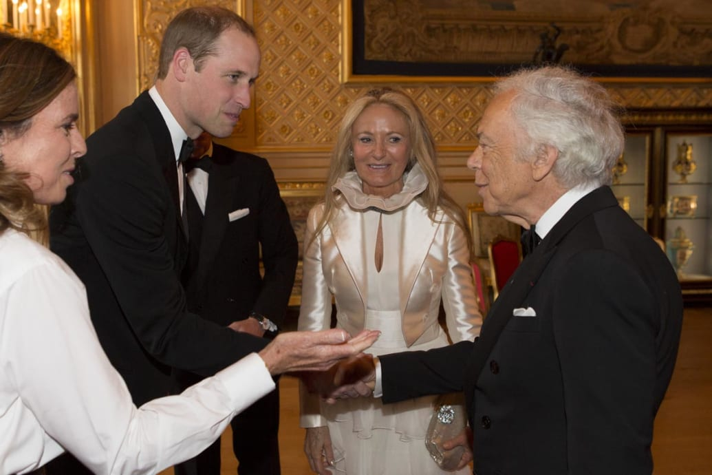 0e9b156c2 ... you were a top fashion designer and you had pledged over a million quid  to sponsor one of Prince William s charities gala banquets at Windsor Castle—and  ...