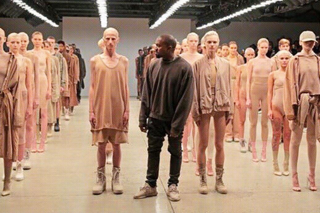 0c3bd466ca145 Kanye s Fashion Week Fail
