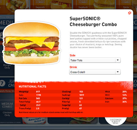 The 40 Deadliest Fast Food Meals