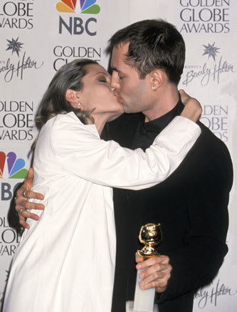angelina jolie making out with her brother
