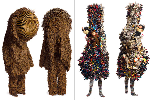 Nick Cave 'Soundsuit' Exhibition: Shainman and Mary Boone Galleries