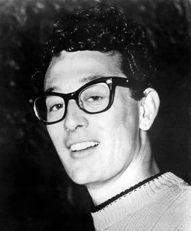 74f8517b733 Buddy Holly s Famous Glasses and More Stars in Spectacles (Photos)