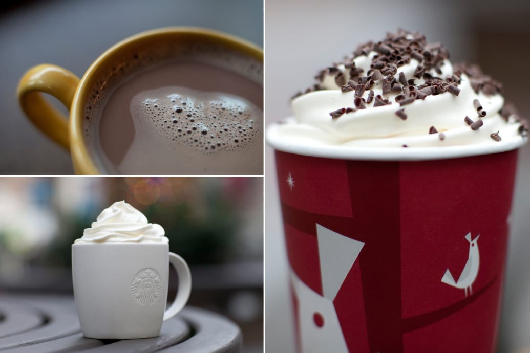 10 Most Fattening Holiday Drinks White Hot Chocolate More