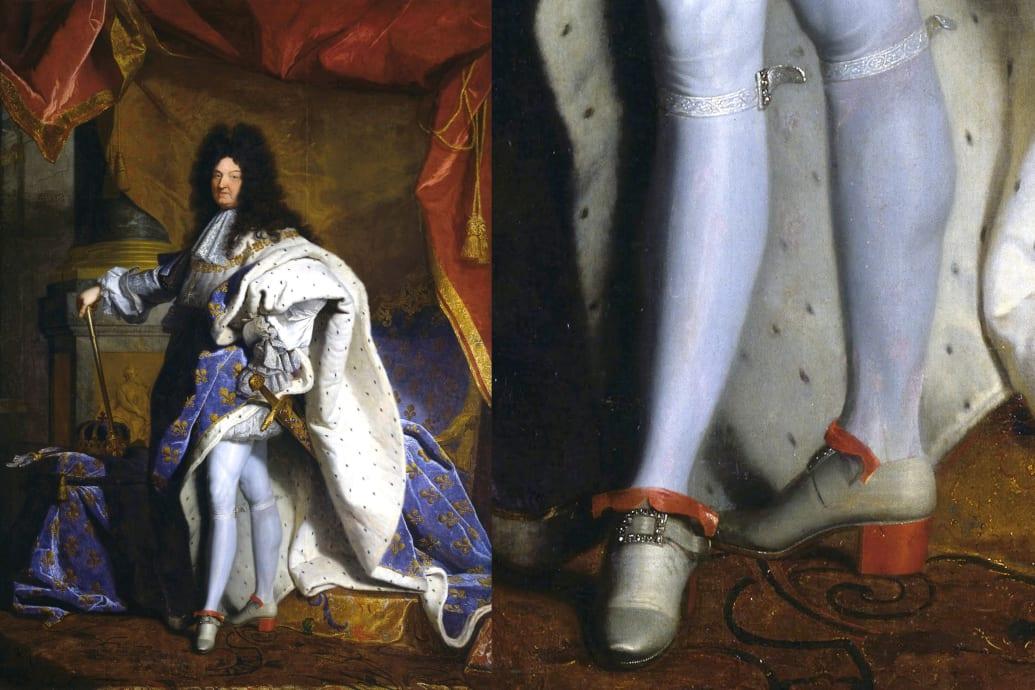 Resultado de imagen para history of high heels men