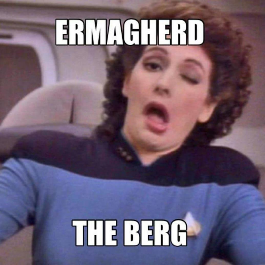 George Takeis Nine Favorite Star Trek Memes