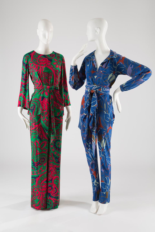 aa6f1c7b4a Yves Saint Laurent + Halston: Fashioning the 70s
