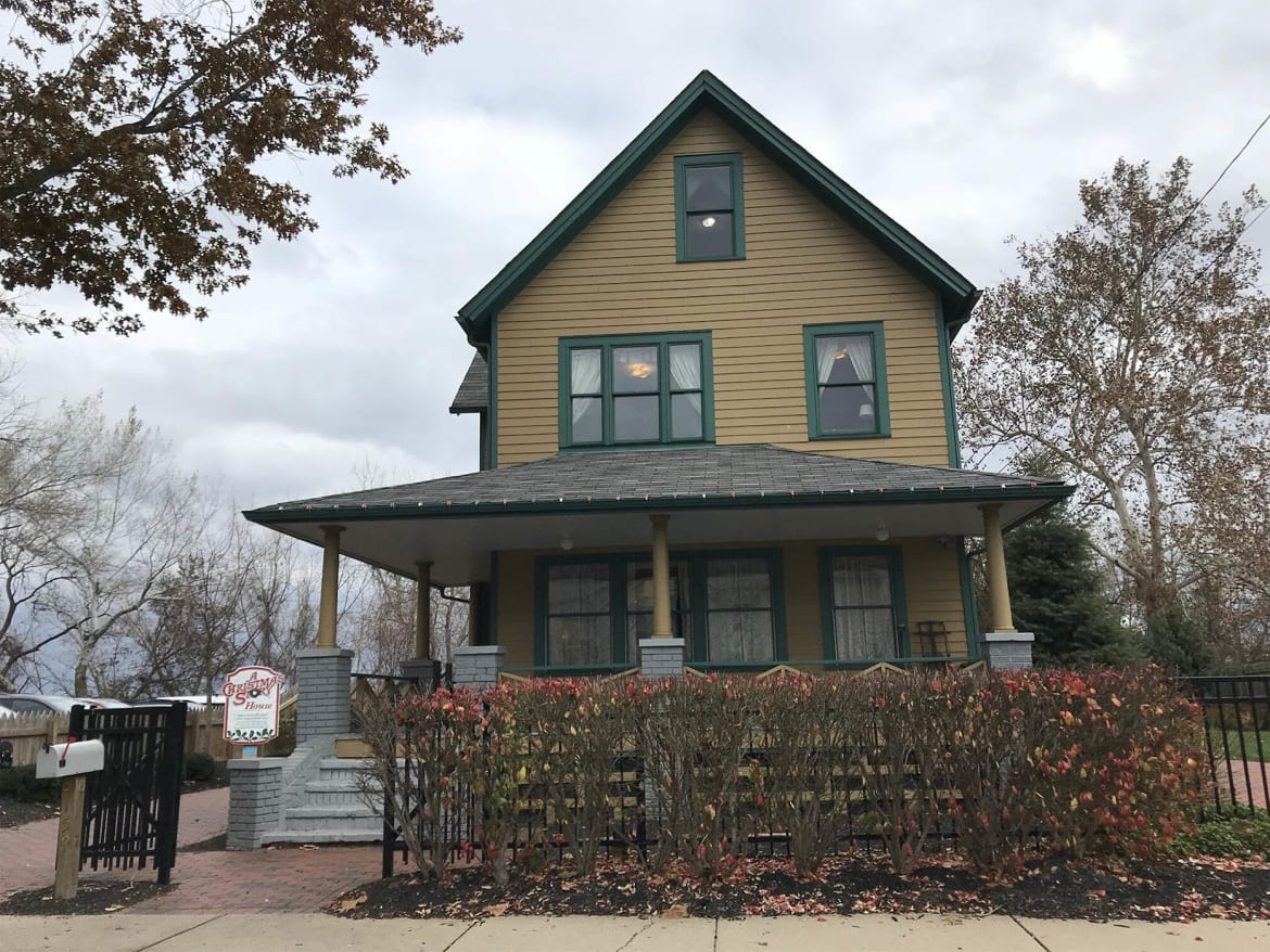 Visit 'A Christmas Story House'—And